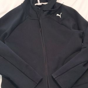 Ladies Puma XL zipper hoodie